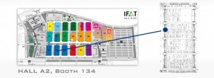 IFAT STAND MAP